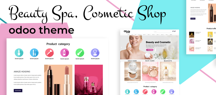 odoo themes for beauty spa shop, beauty products odoo themes, odoo ecommerce store