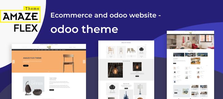 Odoo theme Amaze Flex by Aagam Infotech