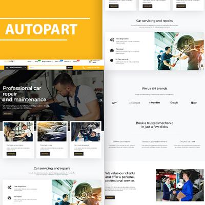 Auto-part wordpress theme