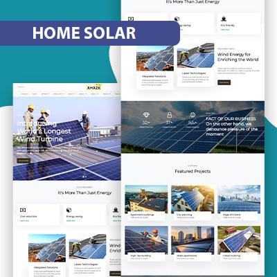 Home-solar wordpress theme