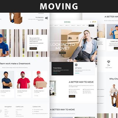 Moving wordpress theme