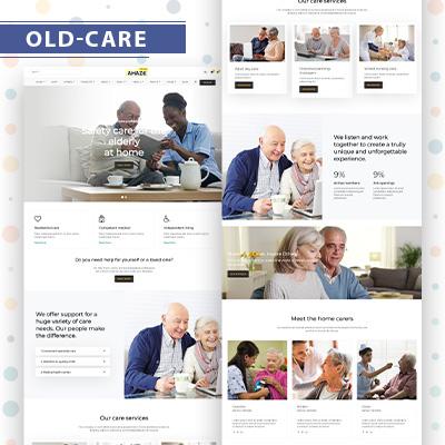 Old-care wordpress theme
