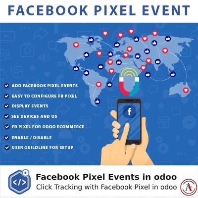 Facebook Pixel Events in Odoo