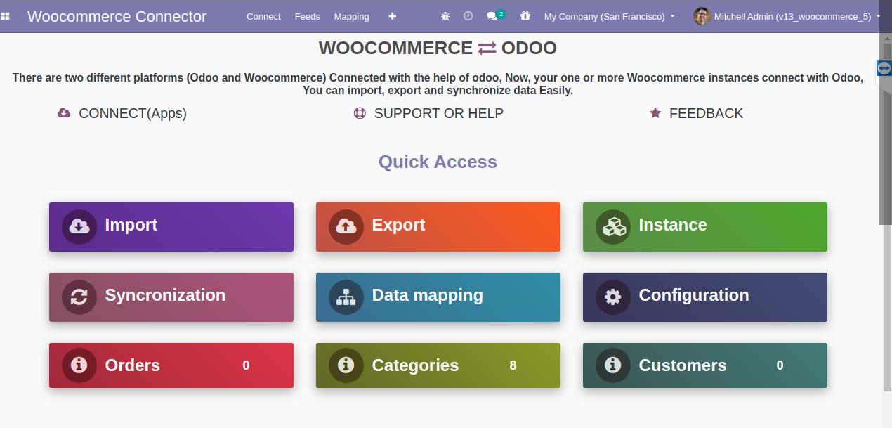 Odoo for WooCommerce